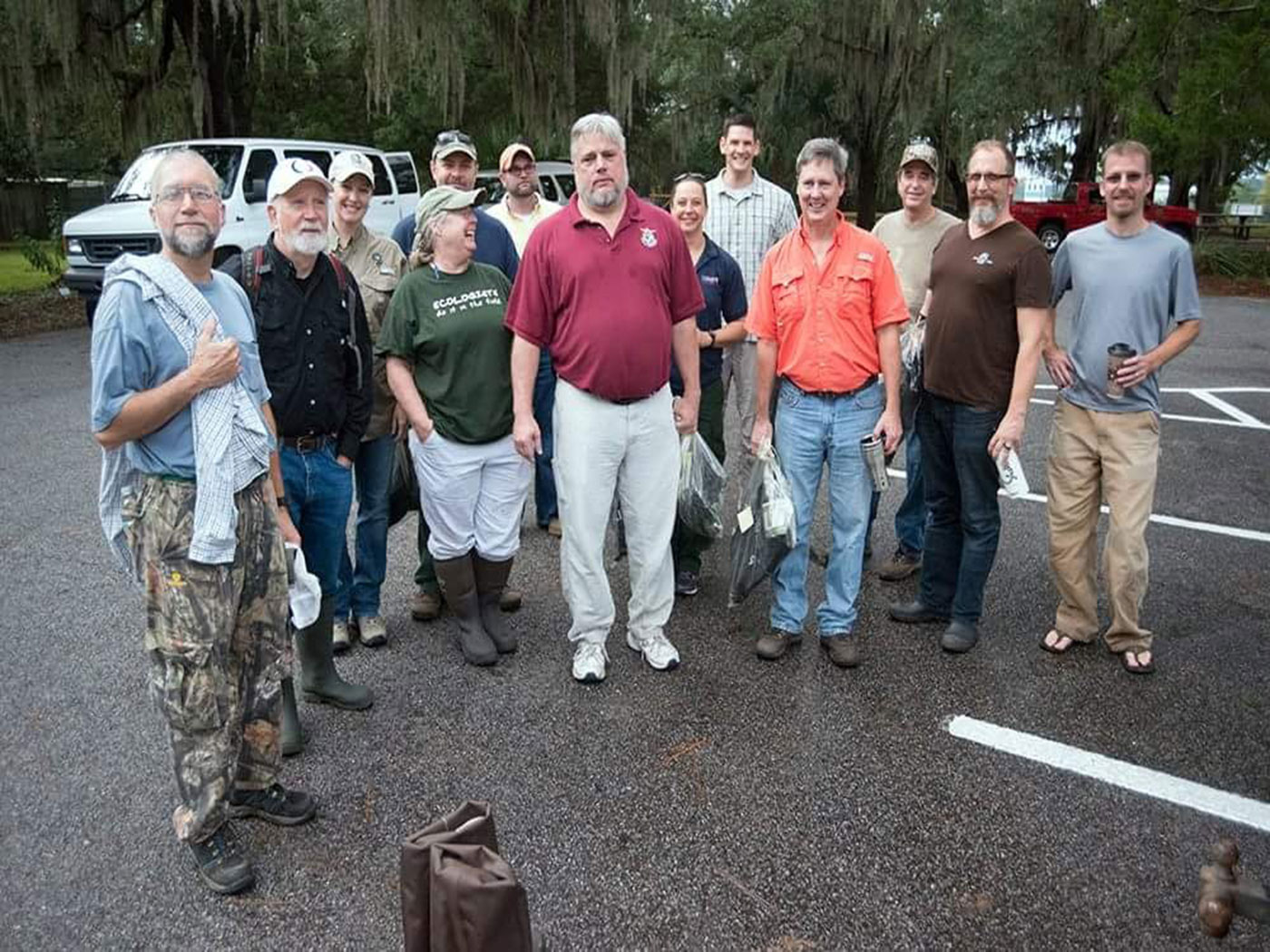 Flatwoods Salamander Recovery Team 2017 - Eglin AFB