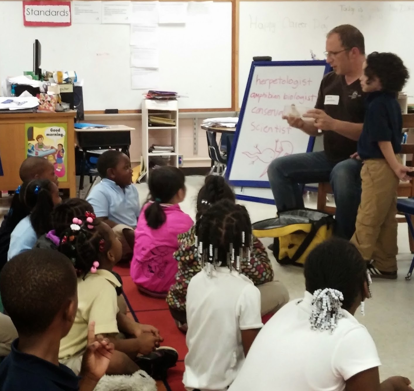 Outreach — Bringing Reptiles & Amphibians to Schools